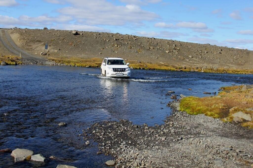 Jeep Safari auf Island