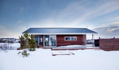 Wintertraum Ferienhaus - Islands Westen