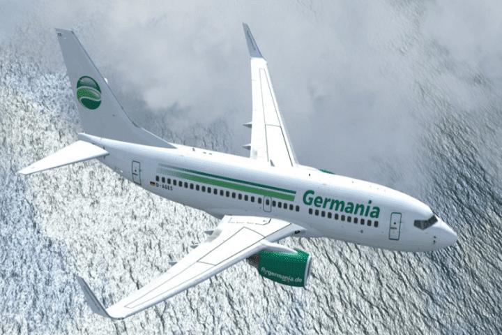 Germania fliegt 2017 ab Dresden und Nürnberg nach Island