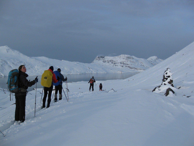 Cross Country Skitour in den Westfjorden Copyright: C.B