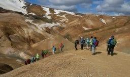 Island für Wanderer