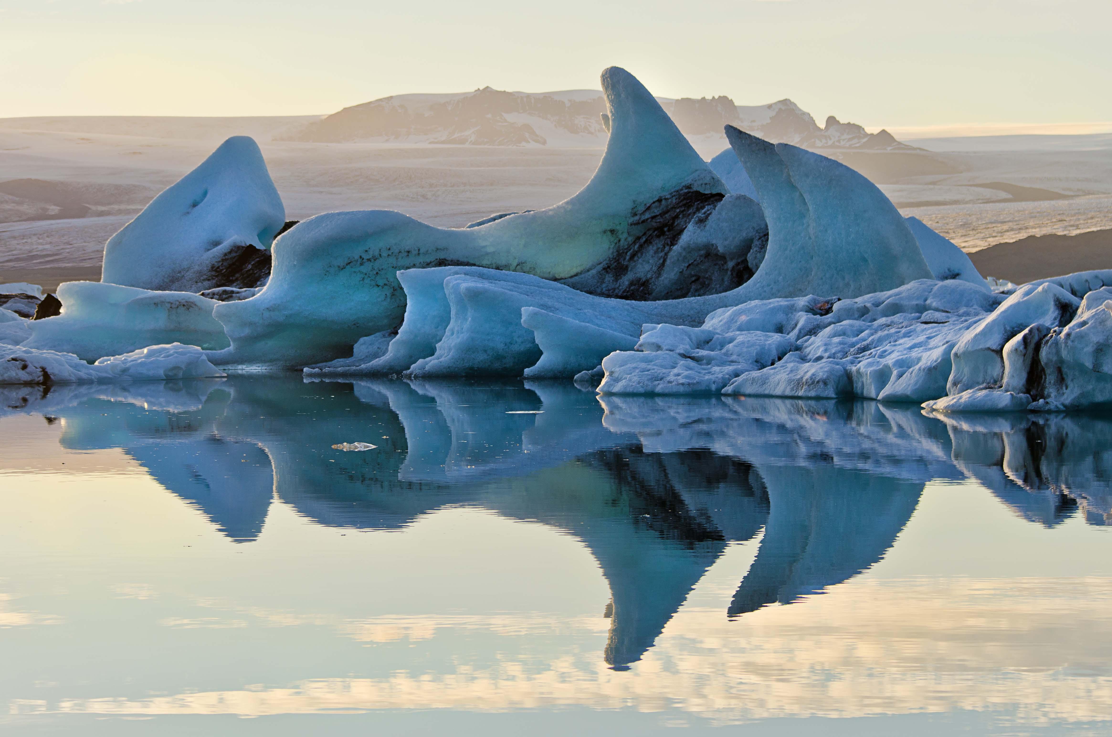 Die Gletscherlagune
