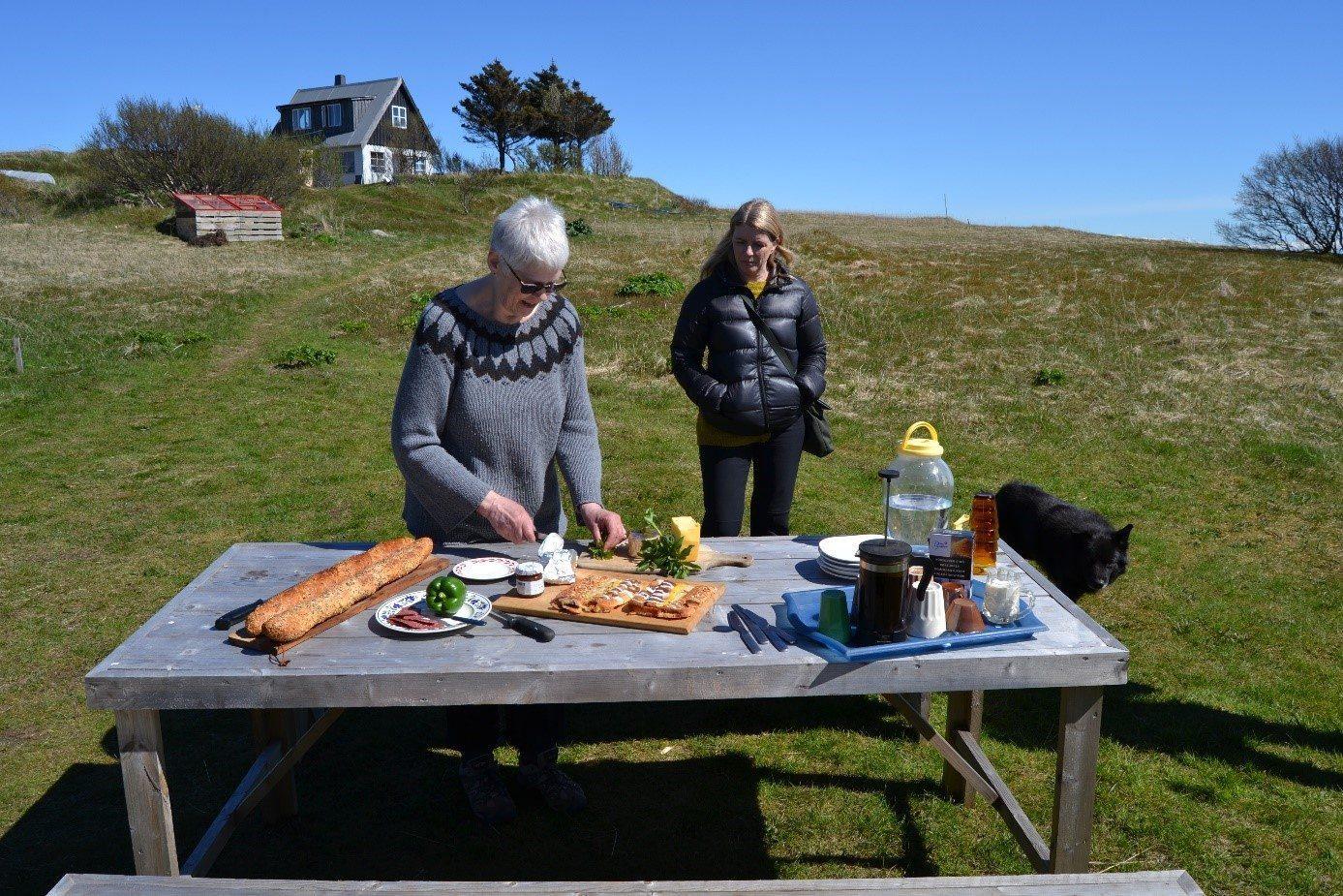 Aus der Natur und in der Natur zubereitet - Insel Traustholtshólmi