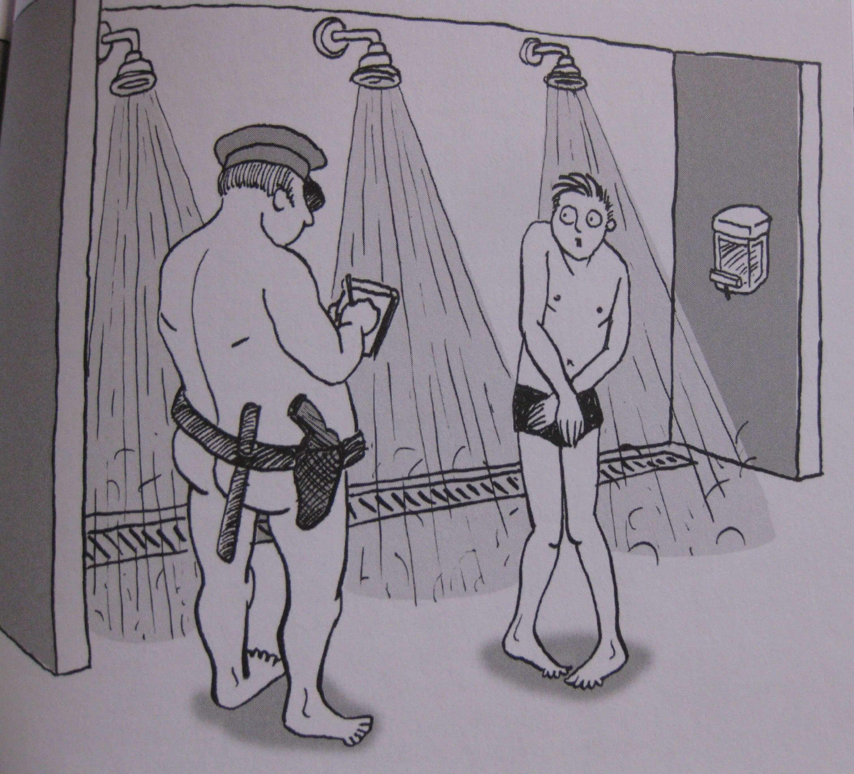 nackt in der gemeinschaftsdusche