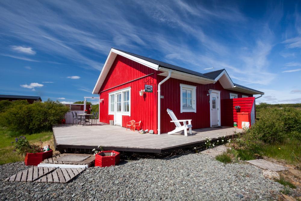 Zusammen reisen und sich ein Haus teilen. Foto: Ferienhaus Stóraborg.