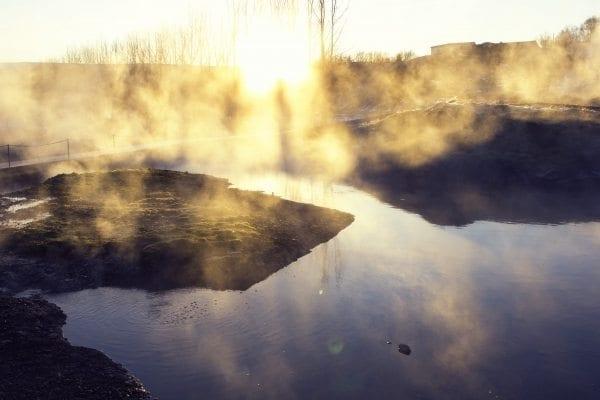 Entspannen in der Secret Lagoon
