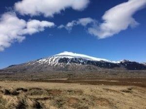 Snæfelljökull Gletscher