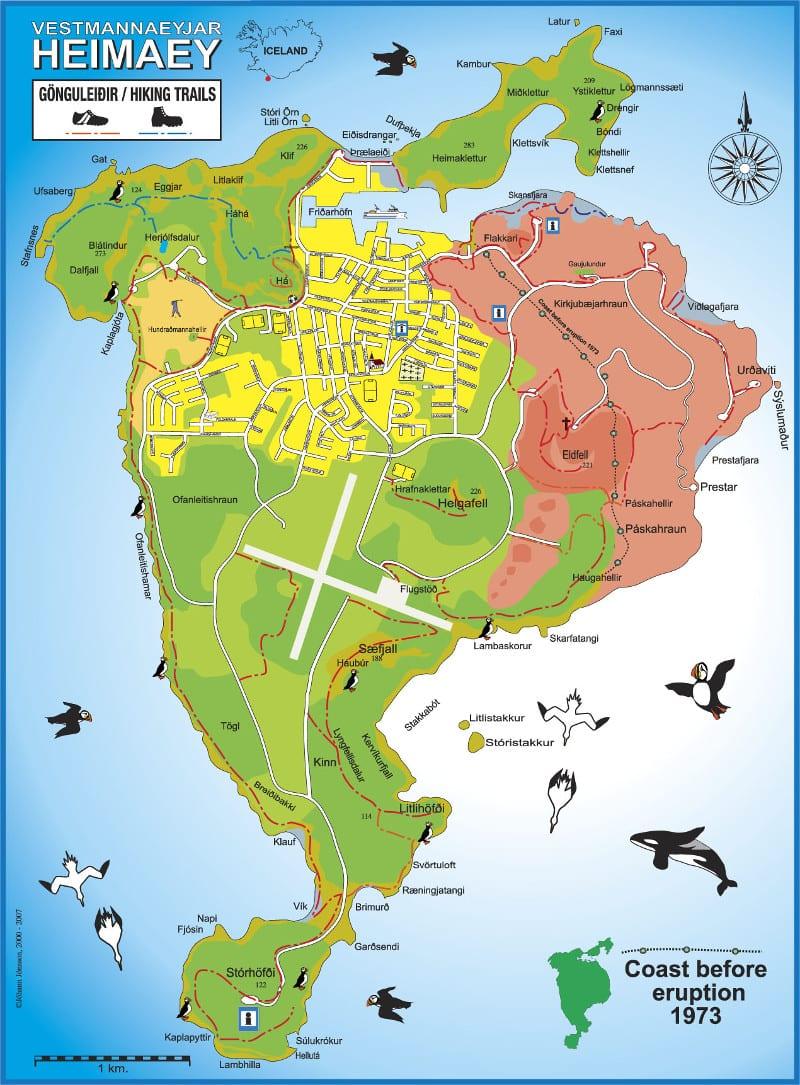 map heimaey