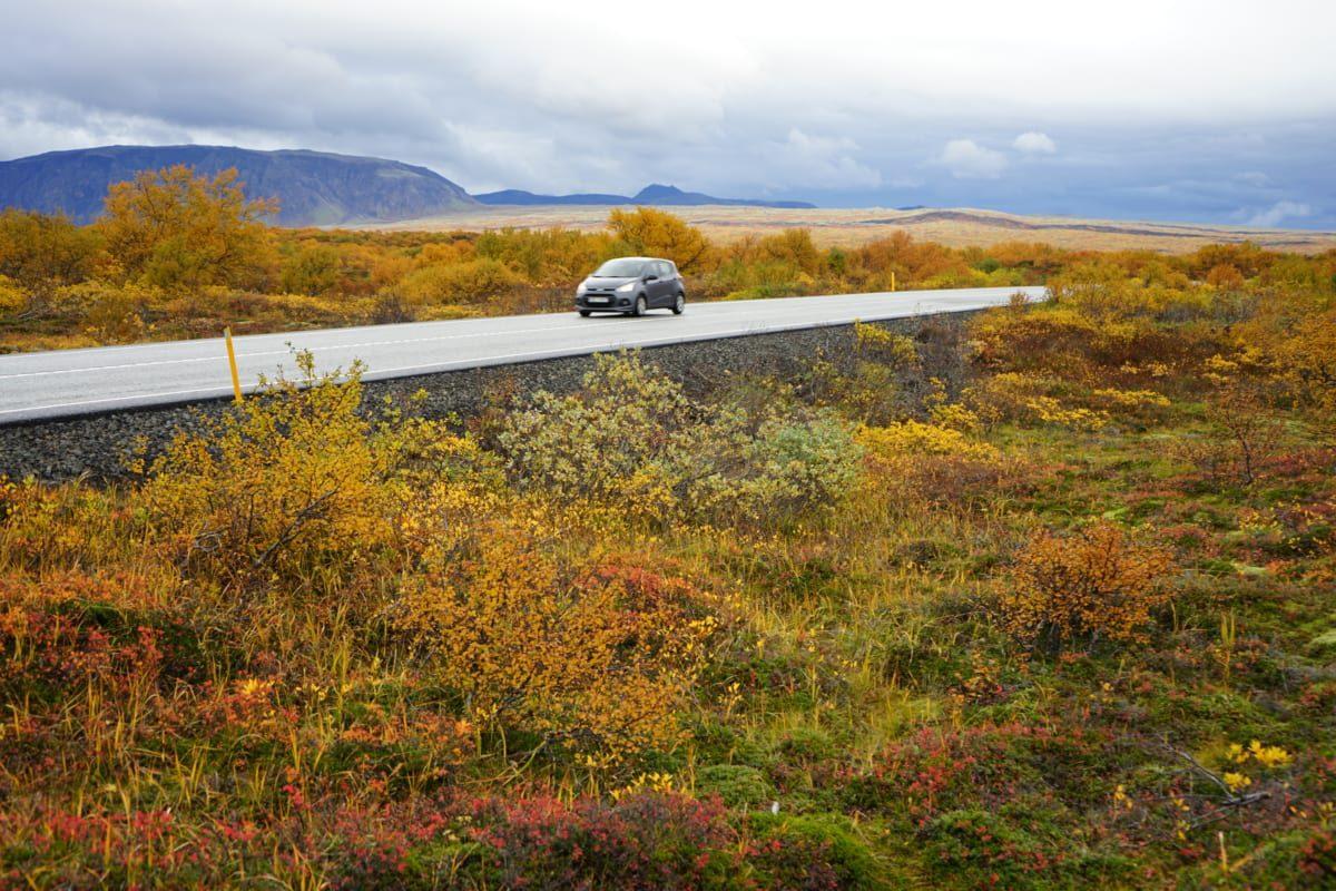 Þingvellir Mietwagen